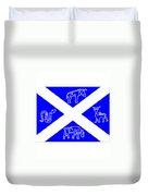 Pictish Scotland Flag 2 Duvet Cover