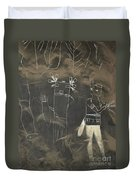 Pictograph 3 Duvet Cover