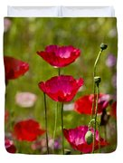 Picture Perfect Poppies Duvet Cover