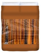 Pictured Rocks Vibrant Layers Duvet Cover