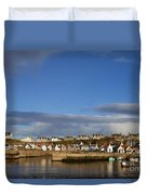 Picturesque Findochty Duvet Cover