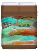 Picturesque Landscape Duvet Cover