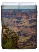Picturesque View Of The Grand Canyon Duvet Cover