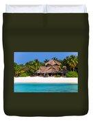 Piece Of Paradise. Maldives Duvet Cover
