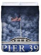 Pier 39 Duvet Cover by Dave Bowman