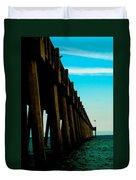 Pier Into The Horizon Duvet Cover
