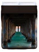 Pier Pylons Duvet Cover