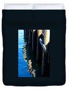 Pier Reflection Duvet Cover