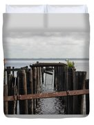 Pier To Nowhere Duvet Cover
