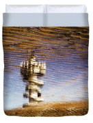 Pier Tower Duvet Cover by Dave Bowman
