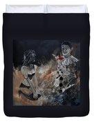 Pierrot Lunaire Duvet Cover