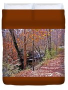 Pigeon Forge River Duvet Cover