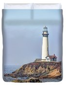 Pigeon Point Duvet Cover by Heidi Smith