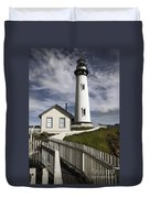 Pigeon Point Lighthouse II Duvet Cover