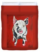 Piggy Duvet Cover