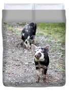 Piglets On The Loose Duvet Cover