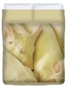 Pigs Sleeping Duvet Cover