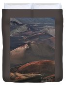 Pihanakalani Haleakala Volcano Sacred House Of The Sun Maui Hawaii Duvet Cover