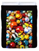 Pile Of Marbles Duvet Cover