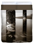 Pillars And Swirls Duvet Cover