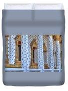 Pillars Duvet Cover
