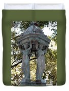 Pillars Of New Orleans Duvet Cover