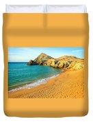 Pilon De Azucar Beach Duvet Cover
