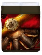 Pilot - Prop - The Barnstormer Duvet Cover by Mike Savad