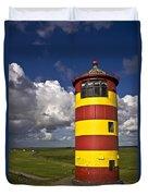 Pilsum Lighthouse Duvet Cover