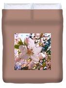Pin Cherry Blooms Duvet Cover