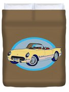 Pin Up Vette Duvet Cover