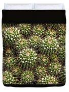 Pincushion Cactus Duvet Cover