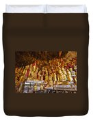 Pindaya Cave With More Than 8000 Buddha Statues Myanmar Duvet Cover
