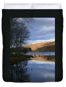 Pine Acres Lake Reflections  Duvet Cover