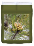 Pine Catkins Duvet Cover