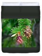 Pine Cone Stages Duvet Cover