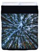 Pine Explosion Duvet Cover