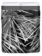 Pine Needle Abstract Duvet Cover
