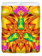 Pineal Flux Duvet Cover