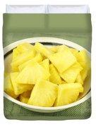 Pineapple Chunks Duvet Cover