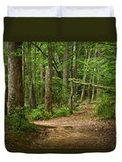 Pinewood Path Duvet Cover