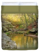 Piney Creek Reflections Duvet Cover