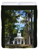 Piney Grove Church Duvet Cover