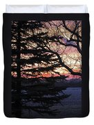 Piney Sunset Duvet Cover