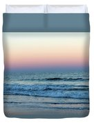 Pink And Blue Sky Duvet Cover