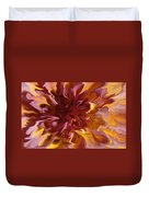 Pink And Yellow Fantasy 1 Duvet Cover