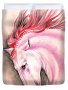 Pink Andalusian Duvet Cover