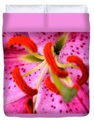 Pink Aroma  Duvet Cover