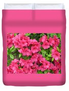 Pink Aura Duvet Cover