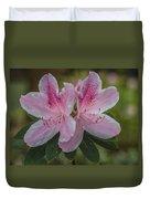 Pink Azalea Duvet Cover